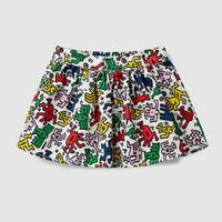 Benetton Keith Haring Kids Skirt Multi Color
