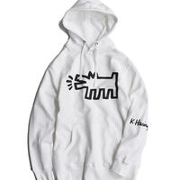 Nouno Keith Haring Icon Parka 〈Dog White〉KH-NN1901