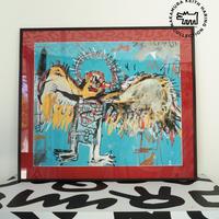 No.37 Framed Poster Basquiat Angel Size:L