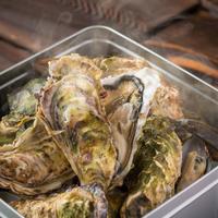 【冷凍】牡蠣のカンカン焼きセット2㎏