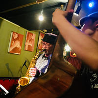 12/2@ナカノピグノウズ津上研太×落合康介jazz live¥2000