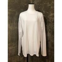 damage L/S pullover(white)