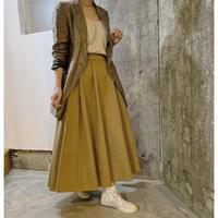 irregular hem skirt (beige)