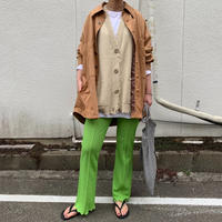jacquard flare pants(light green)