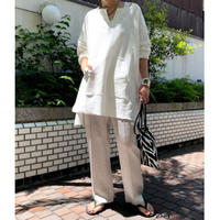 cut over tunic (off white)