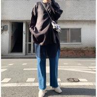 cupra big blouse (black)
