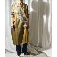 cupra dress  (camel)