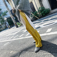 【RE STOCK】cupra easy pants  ( yellow ) ★new color★