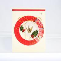 クリスマスカード 丸輪 (クリスマス印字なし)