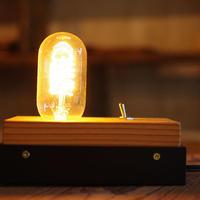 wood cube lamp