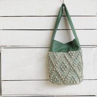 【1点もの】Bobble One handle bag(ワンハンドルバッグ)  ミントグリーン