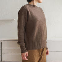 CA&Co. Yak クルーネックセーター(モカブラウン)