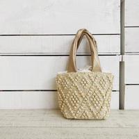 【1点もの】Bobble mini tote bag(トートバッグ)  イエロー