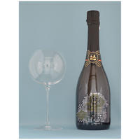 awa酒専用グラス「IMMERSION」・人気一あわ酒スパークリング純米大吟醸BRUT NATUREセット