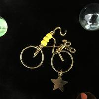 """ブローチ DUECCEL """"自転車"""" P003"""
