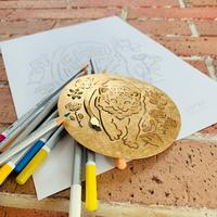 lion garden オリジナル塗り絵
