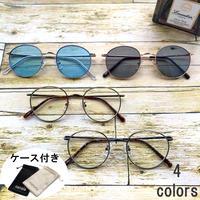 【メタルラウンドサングラス・メガネ】4colors/TY3550   MEN'S/LADY'S   サングラスケース付き 送料無料!