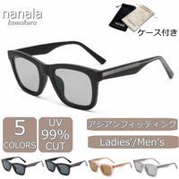 【スクエア サングラス】5colors/UV99%cut/Ladies'・Men's