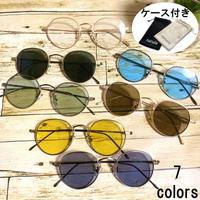 【ヴィンテージボストン メタルサングラス】7colors/TY3539  MEN'S/LADY'S   サングラスケース付き 送料無料!