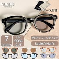 【ウェリントン サングラス】7colors/UV99%cut/Ladies'・Men's