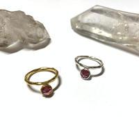 【受注商品】Bijou ring (ロードライトガーネット)