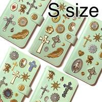 手帳型スマホケース Sサイズ〈Mint〉