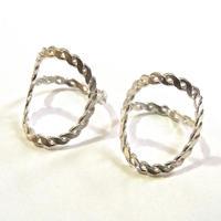 Circle ring  <silver>