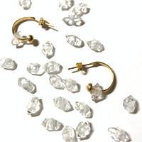 Herkimer diamond pierce charm (Set) チャームのみ