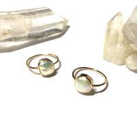 【受注商品】Uneven pearl ring (K10) #13 - #17