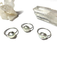 Uneven pearl ring (Silver925)