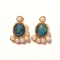 【受注商品】Tiny opal pierce (set)