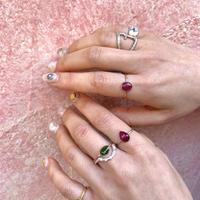 K10 ring (トルマリン)