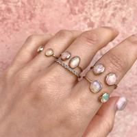 K10 combi ring (エチオピアオパール)