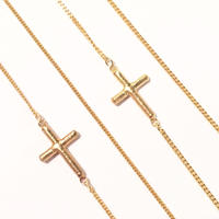 Cross chain 40cm/45cm