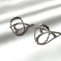 Circle ring〈Silver〉