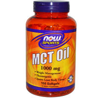 Now Foods, Sports, MCT Oil 1000 mg 150 scpls