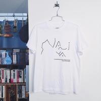 NANIYA Tシャツ 1(ホワイト)