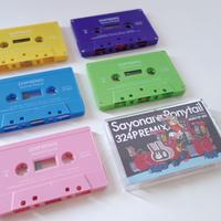 さよならポニーテール / 324P  REMIX (cassette tape)