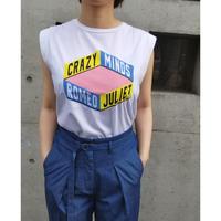 SILVIAN HEACH ノースリーブロゴTシャツ