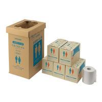 簡易トイレ付 くるくるトイレ 100回(400-785)