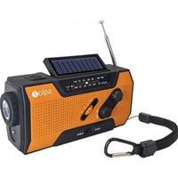 手回しソーラー蓄電ラジオ Chardio(401-946)