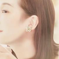 銀木犀の耳飾り