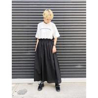 【SUGAR ROSE】 ロゴTシャツドッキングワンピース