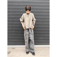 【style zampa】ピンタック7分袖ブラウス