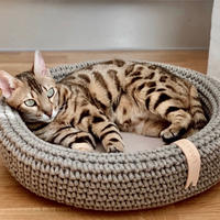 [Labbvenn] COCO Cat Bed カフェオレ