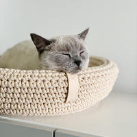 [Labbvenn] COCO Cat Bed ミルクティー