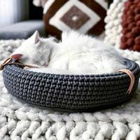 [Labbvenn] COCO Cat Bed マットグレー