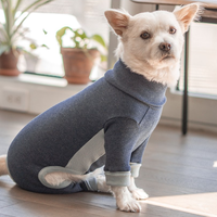 [furryfolks]  High Neck Jumpsuit ネイビー