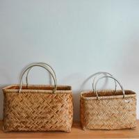 竹の編みかご