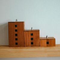 木の収納ボックス